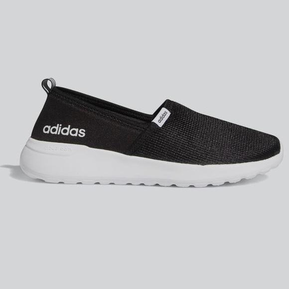 Adidas Women Cloudfoam Lite Racer Slip-on Sneakers